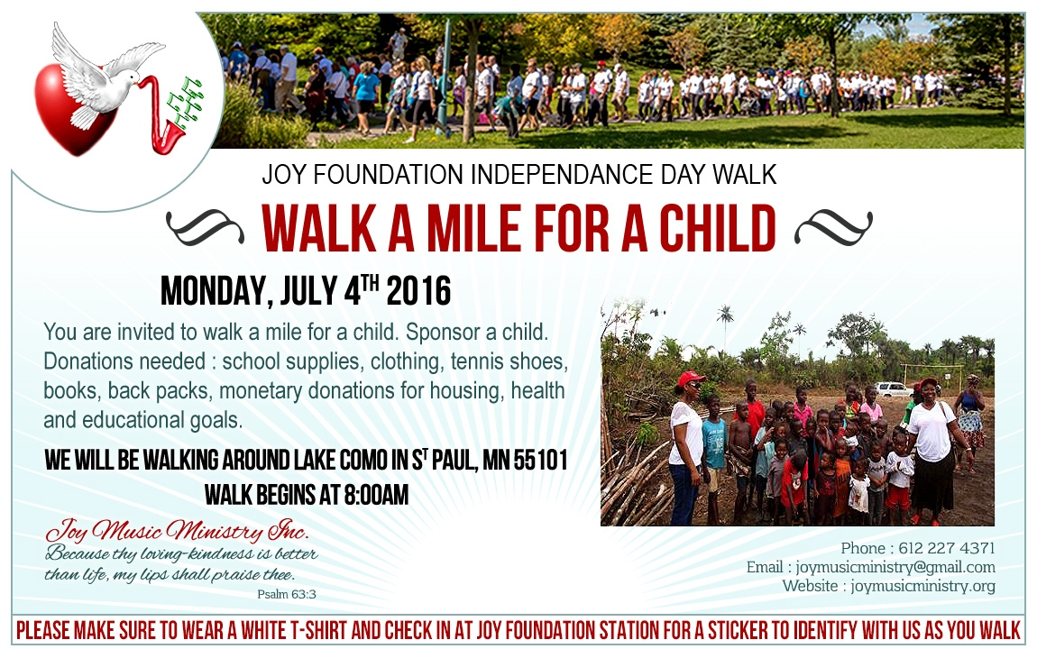 Walk a Mile for a Child